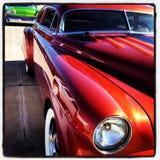 выставка способа автомобиля старая Стоковая Фотография