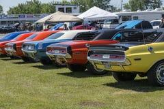 выставка способа автомобиля старая Стоковое Изображение RF