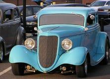 выставка субботы ночи 2 автомобилей классицистическая Стоковые Фотографии RF