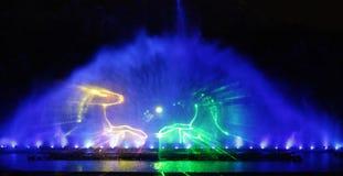 Выставка фонтана Стоковые Фотографии RF