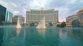 Выставка фонтана Bellagio Стоковые Фото