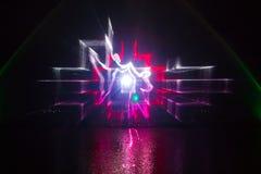 Выставка фонтана Roshen Стоковая Фотография RF