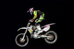 Выставка фристайла мотоцилк Стоковые Изображения RF