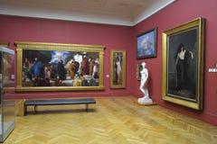 Выставка художественной галереи Стоковая Фотография