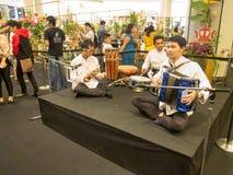 Выставка цветов в Таиланде 2014 Стоковая Фотография