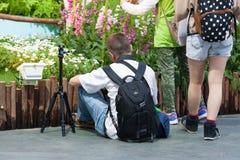 Выставка цветов Гонконга Стоковая Фотография RF