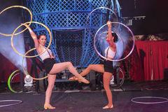 Выставка цирка Zyair потехи Стоковое Фото