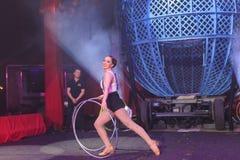 Выставка цирка Zyair потехи Стоковые Изображения RF