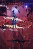 Выставка цирка Zyair потехи Стоковое фото RF