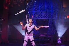 Выставка цирка Zyair потехи Стоковая Фотография RF