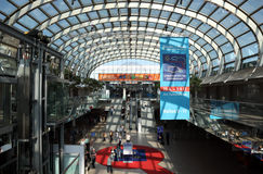 Выставка 2012 салона каравана Стоковое Фото