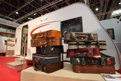 Выставка 2012 салона каравана Стоковое фото RF