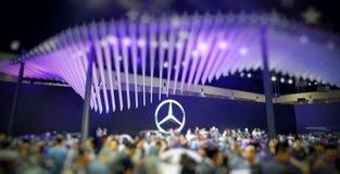 Выставка Benz Мерседес Стоковое Фото