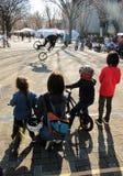Выставка BMX в Harajuku Японии Стоковое Изображение