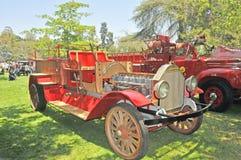 выставка firetruck пожара двигателя старая Стоковые Изображения RF
