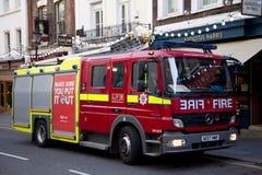 выставка firetruck пожара двигателя старая Стоковые Фото