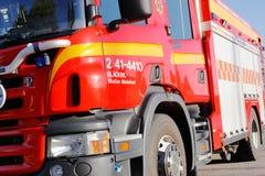 выставка firetruck пожара двигателя старая Стоковое Изображение