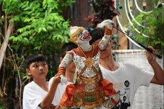 Выставка Hanuman Стоковая Фотография
