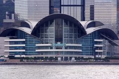 выставка Hong Kong конвенции центра Стоковые Изображения RF