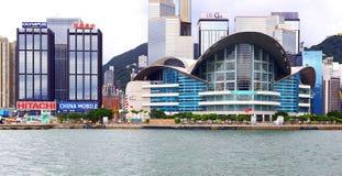 выставка Hong Kong конвенции центра Стоковое Изображение