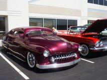 выставка hotrods автомобиля стоковое изображение