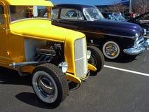 выставка hotrods автомобиля стоковые изображения