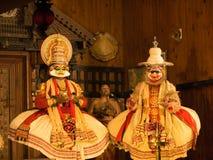 Выставка Katakali в Индии Стоковые Фотографии RF