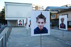 Выставка Razza Umana на Chiasso Стоковые Изображения RF