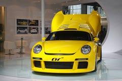 выставка ruf гонщика премьеры ctr guangzhou 3 автомобилей Стоковая Фотография