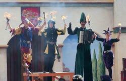 Выставка Tynker клана, фестиваль ренессанса Аризоны Стоковое Фото