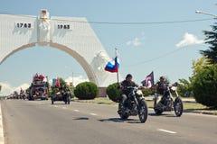 выставка XIV moto bike международная Стоковые Изображения RF