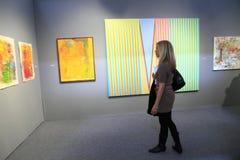 выставка york города искусства новая Стоковое Изображение RF