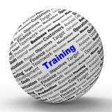 Выставки определения сферы тренировки инструктируя или бесплатная иллюстрация