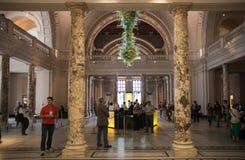 Выставочный зал музея Виктории и Альберта Стоковое Изображение RF