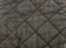 Выстеганная материальная предпосылка Стоковая Фотография RF