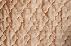 Выстеганная ткань сатинировки Стоковая Фотография RF