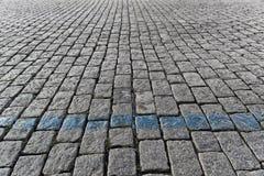 Выстилка булыжника Стоковая Фотография
