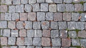 выстилка гранита предпосылки cobblestoned стоковое фото