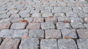 выстилка гранита предпосылки cobblestoned стоковые изображения rf