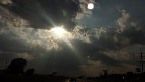 выступать солнце Стоковые Фотографии RF