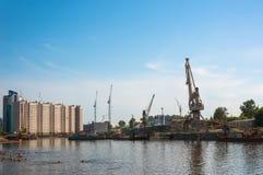Выстучайте на набережной в порте Стоковое Изображение RF