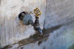 выстучайте стену Стоковая Фотография RF