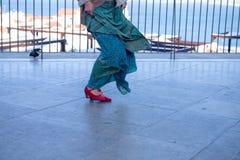 Выстучайте танц-класс Стоковая Фотография