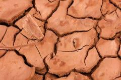 высушенная земля Стоковое фото RF