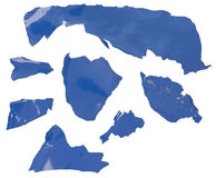 Высушенная краска стоковое фото rf