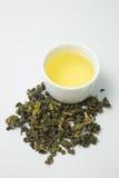 Высушенная предпосылка изолированная чаем белая стоковое фото rf
