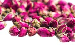 Высушенная предпосылка rosebuds Стоковое Фото