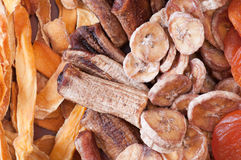 высушенная экологическая еда fruits различно стоковые фото