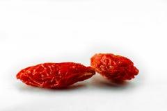 2 высушенная ягода Стоковая Фотография