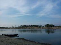 высушенное река Стоковое Изображение RF